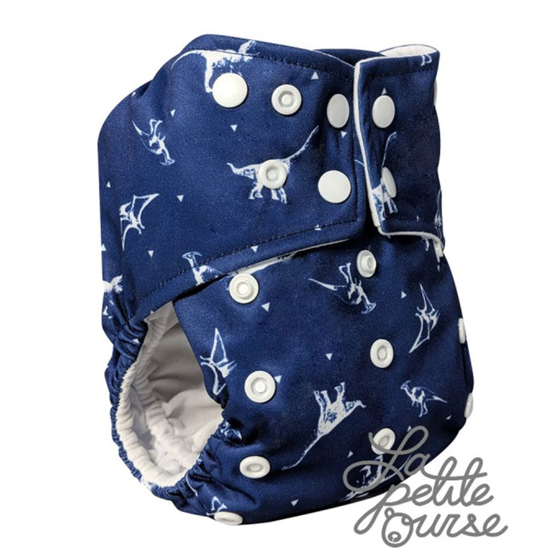 Cloth Diaper 10-35lbs - Dino