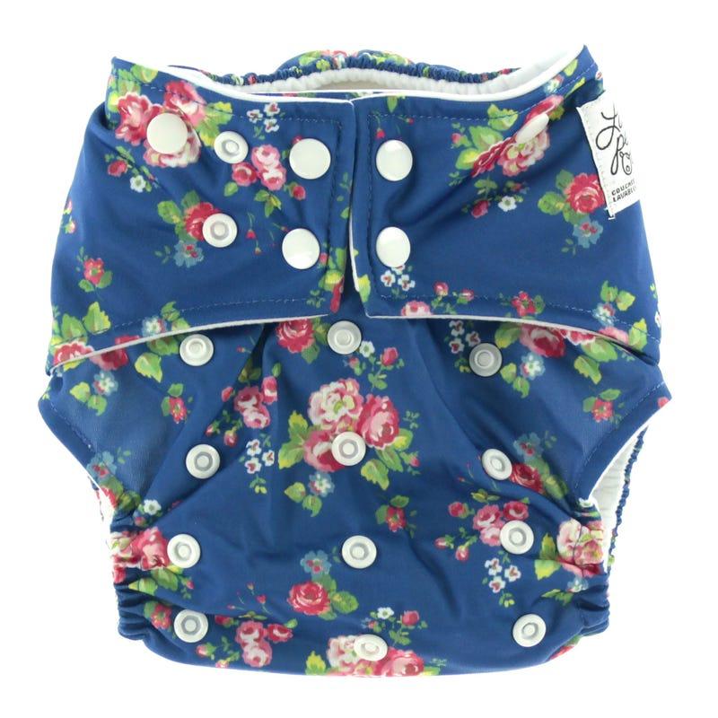 Cloth Diaper 10-35lbs - Flower