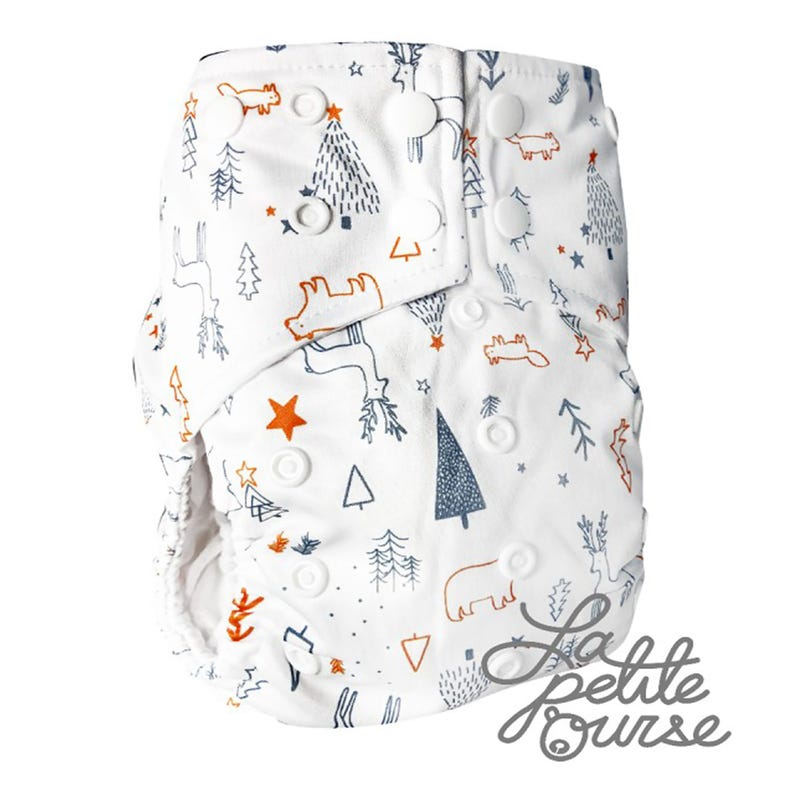 Cloth Diaper 10-35lbs - Forest