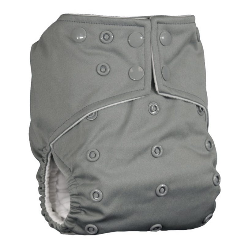 Cloth Diaper 10-35lbs - Gray