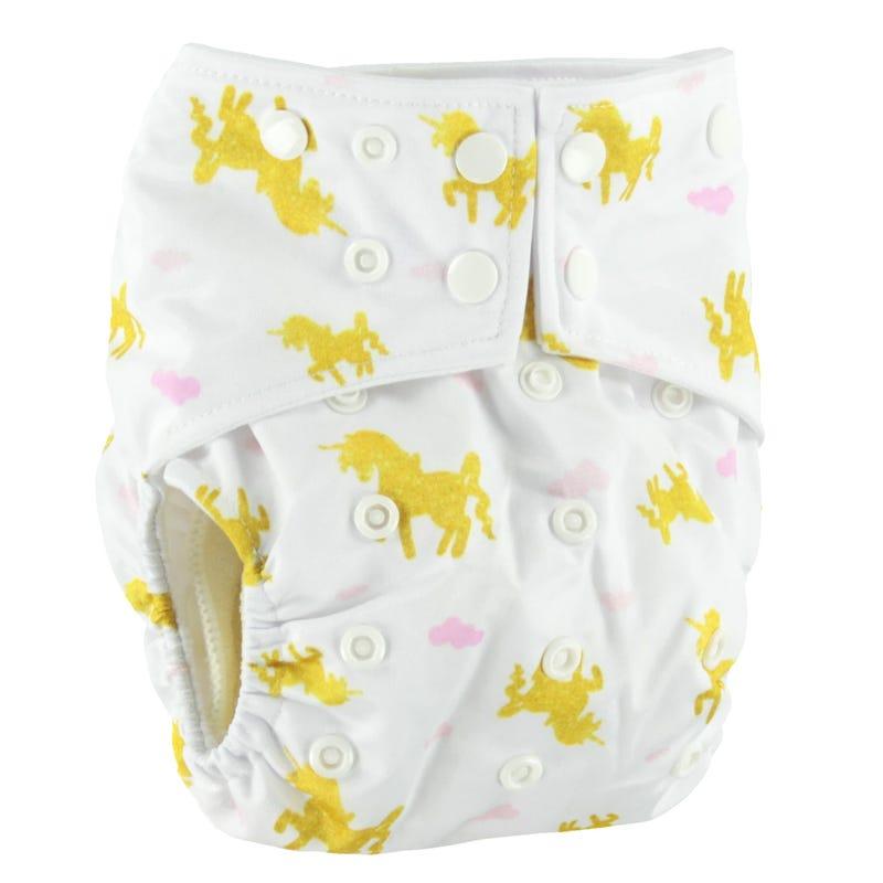 Cloth Diaper 10-35lbs - Unicorn