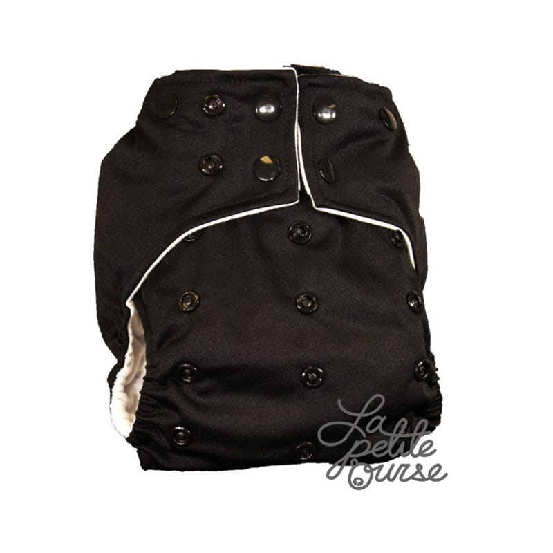 Cloth Diaper 10-35lbs - Black