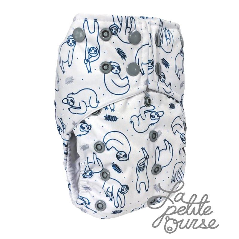 Cloth Diaper 10-35lbs - Sloths