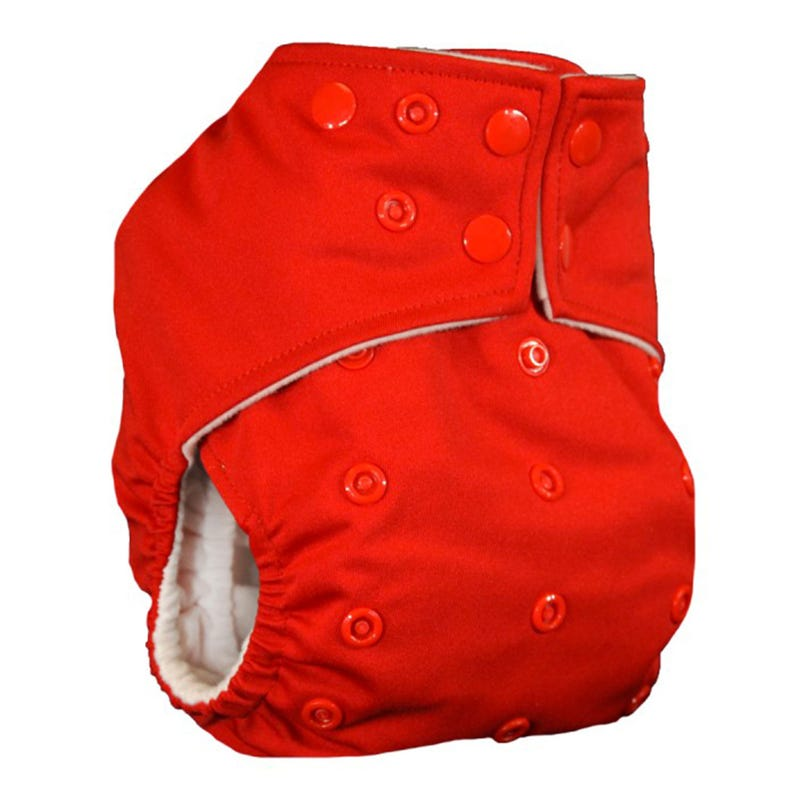 Cloth Diaper 10-35lbs - Red