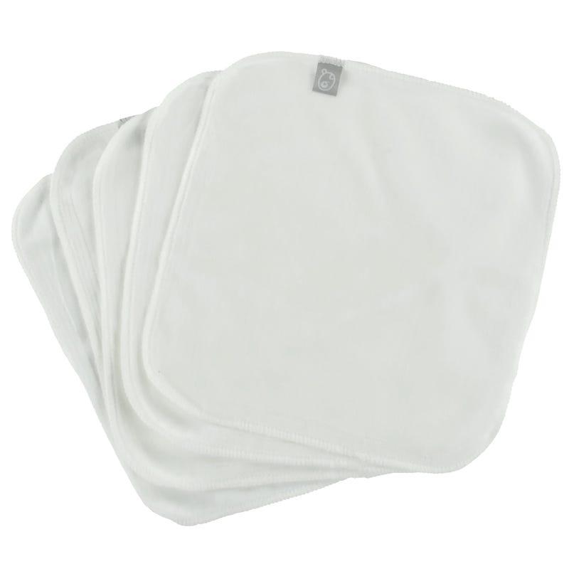 Washable Wipes Set of 5 - White