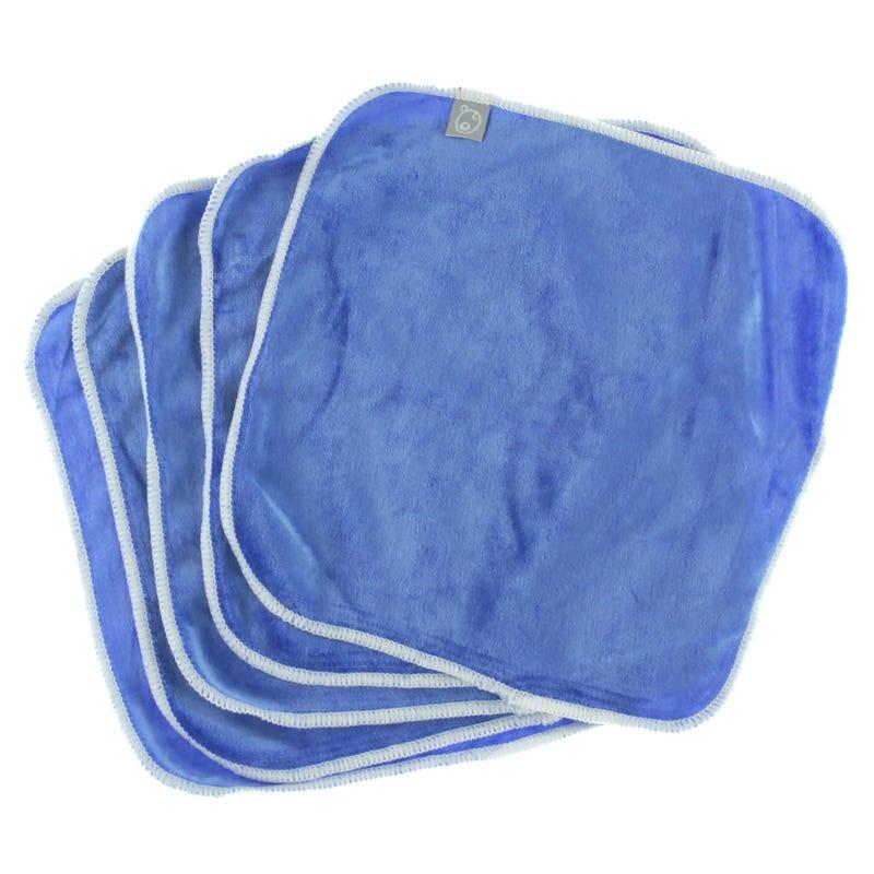 Washable Wipes Set of 5 - Blue