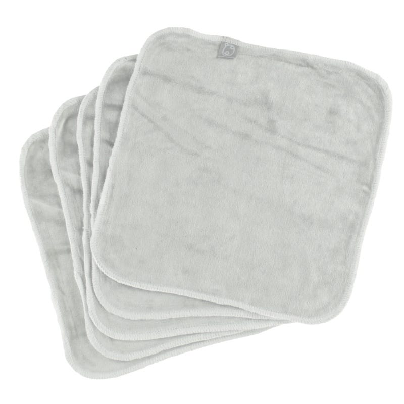 Washable Wipes Set of 5 - Gray