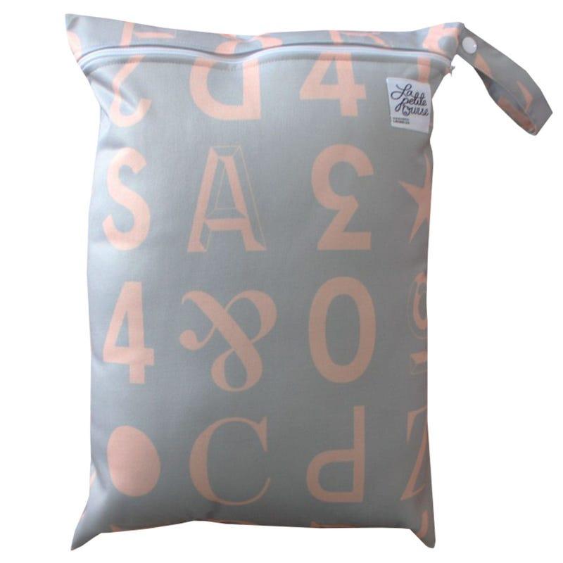 Large Wet Bag - Letters