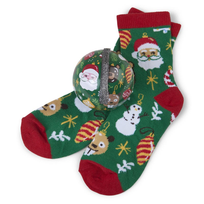 Gift Set Ornament Socks 4-7