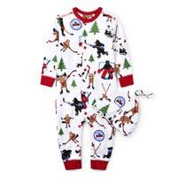 Pyjama Combinaison Hockey 3-24mois
