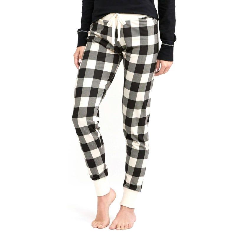 Pantalon Pyjama Ours Carreaux Adulte Femme