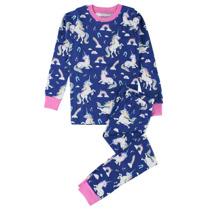 Pajama Set 2-10y - Unicorns