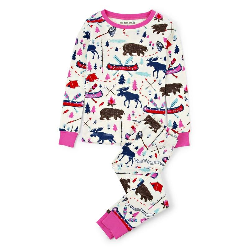 Pajama Set 2-10y - Sketch Camping