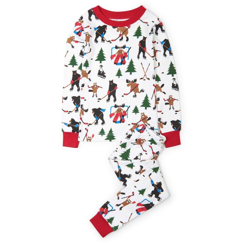 Hockey Pajama Set 2-10