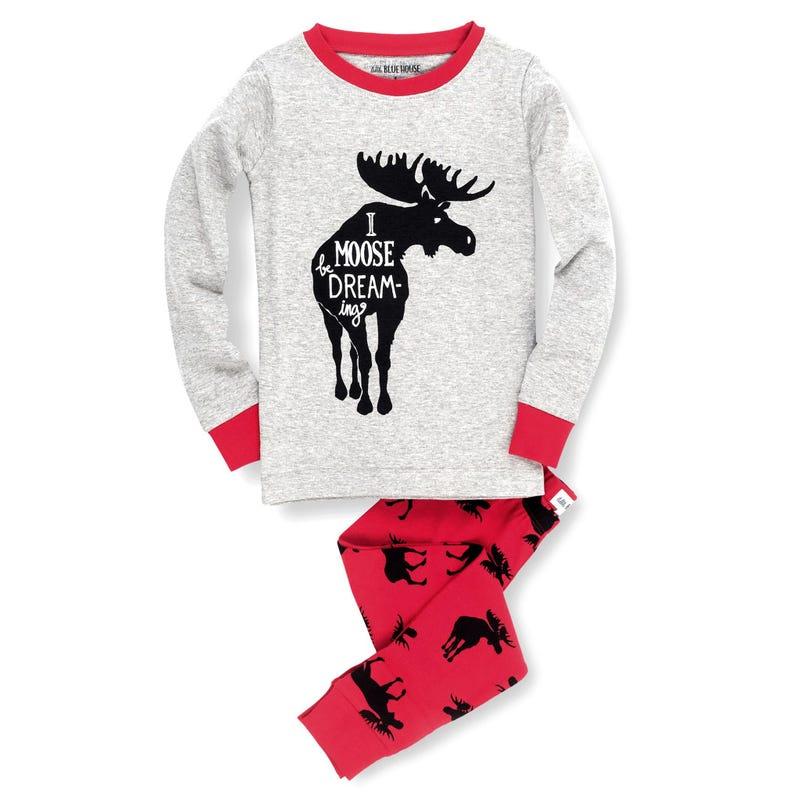 Moose Pajamas 2-6
