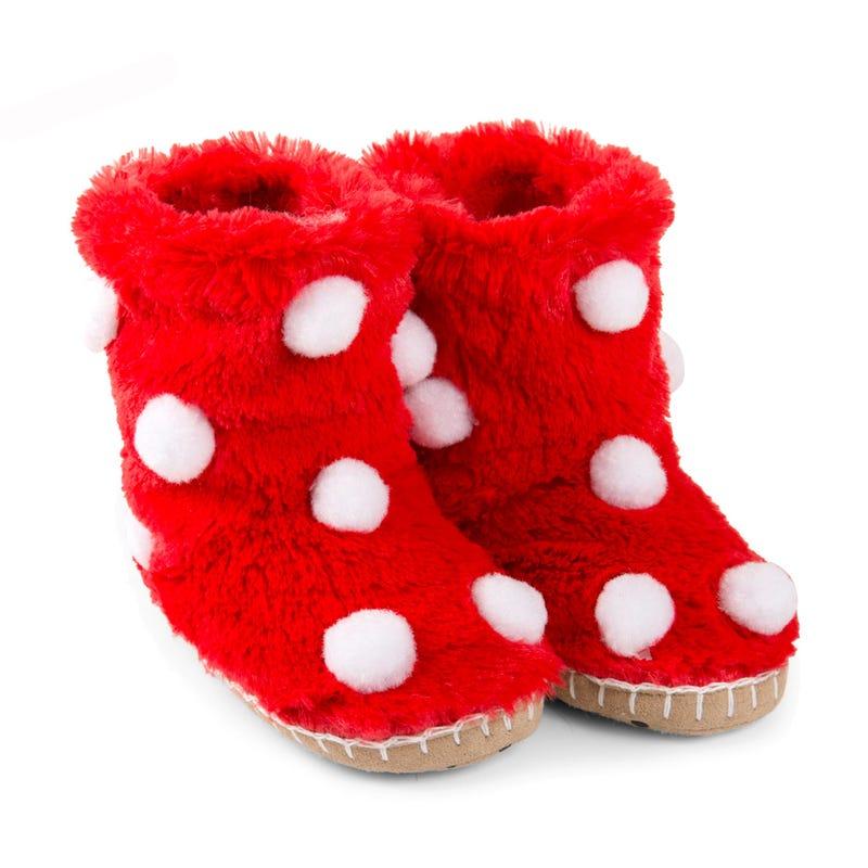 Snow balls slippers 2-8