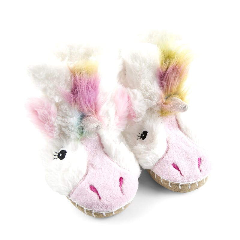 Unicorn face slippers 2-8