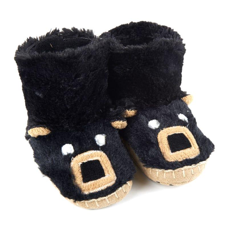 Bear Face Slippers 2-8