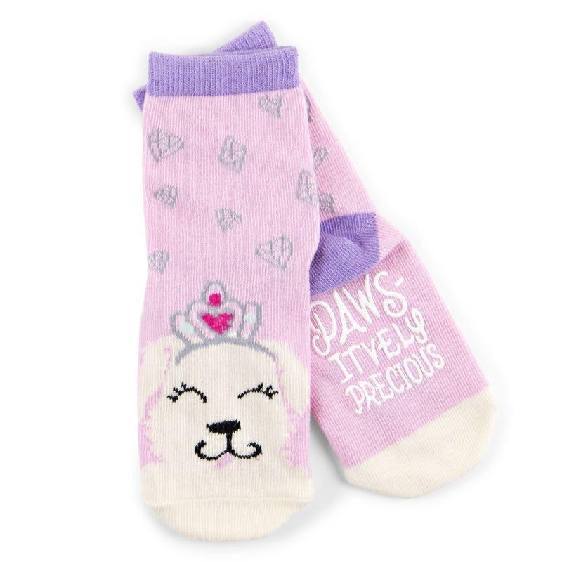 Anti-Slip Socks 2-7y - Paws