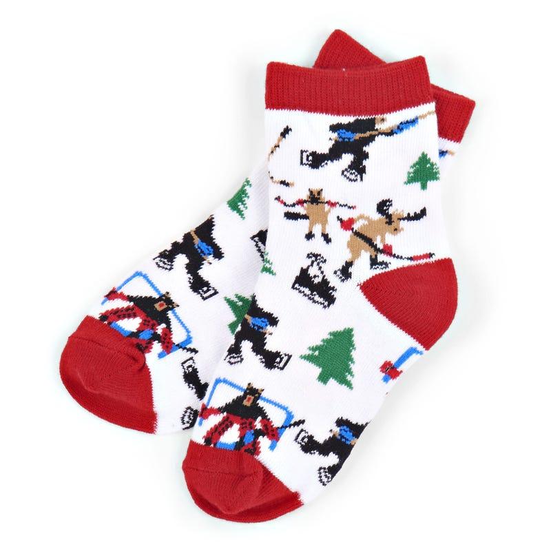 Socks 2-7y - Hockey Night