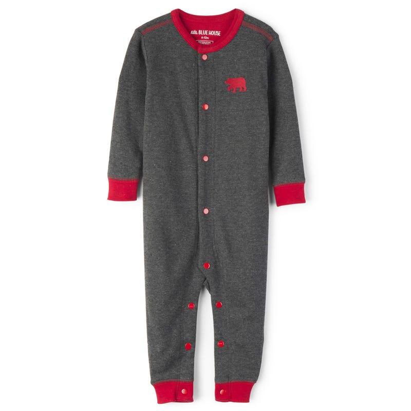 One-Piece Pajama 3-24m - Bear