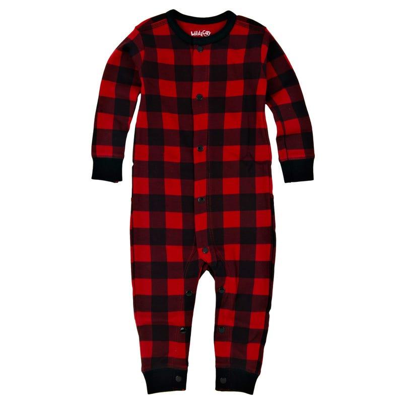 One-Piece Pajama 3-24m - Buffalo
