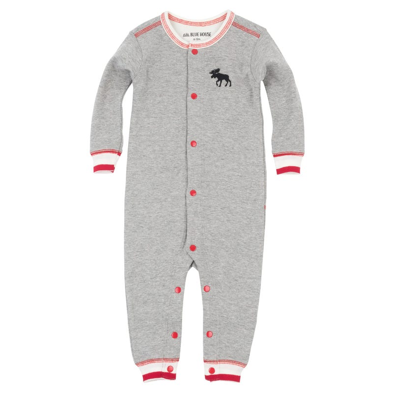 ae2843705187 Moose One-Piece Pajamas 3-24m. 30% OFF. Little Blue House by Hatley ...