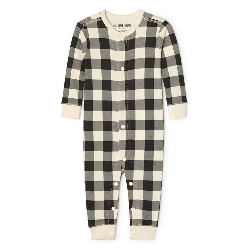 Bear Plaid Pyjamas 3-24m