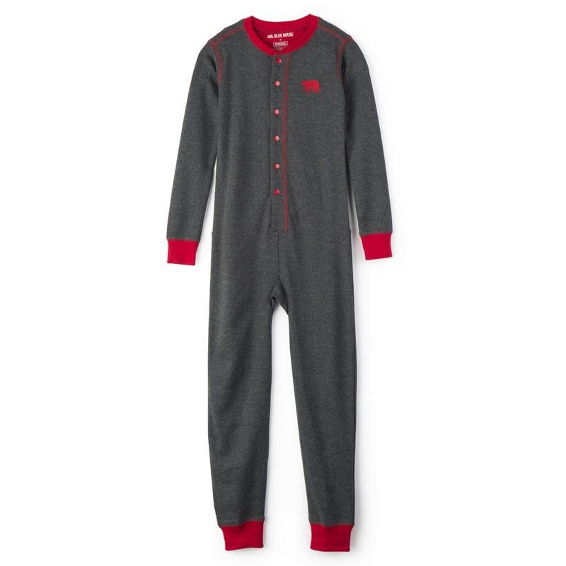 Pyjama Combinaison Ours 2-14ans