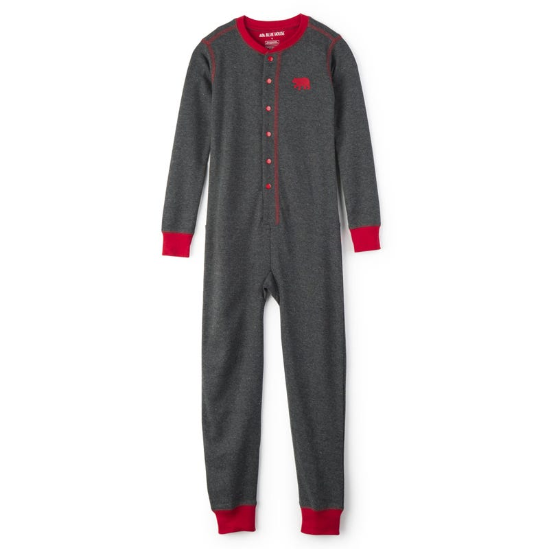 One-Piece Pajama 2-14y - Bear