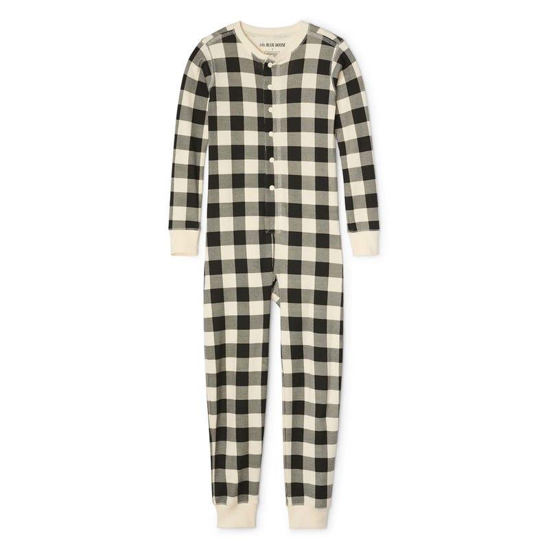 Pyjama Combinaison Ours Carreaux 2-14ans