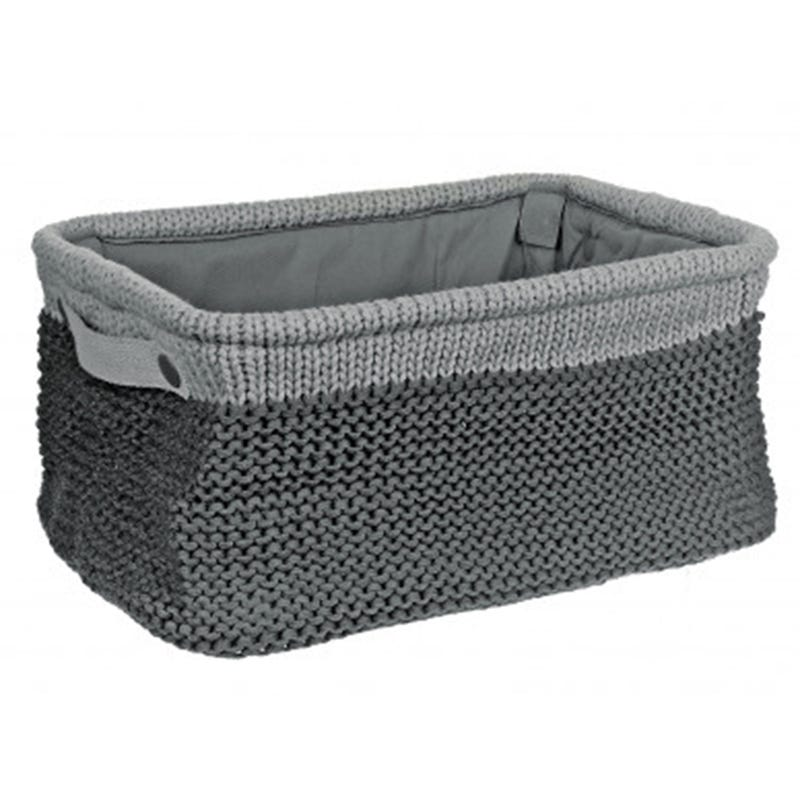 Knit Basket - Gray