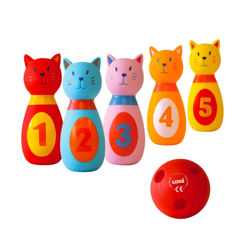 Cat Baby Bowling Game