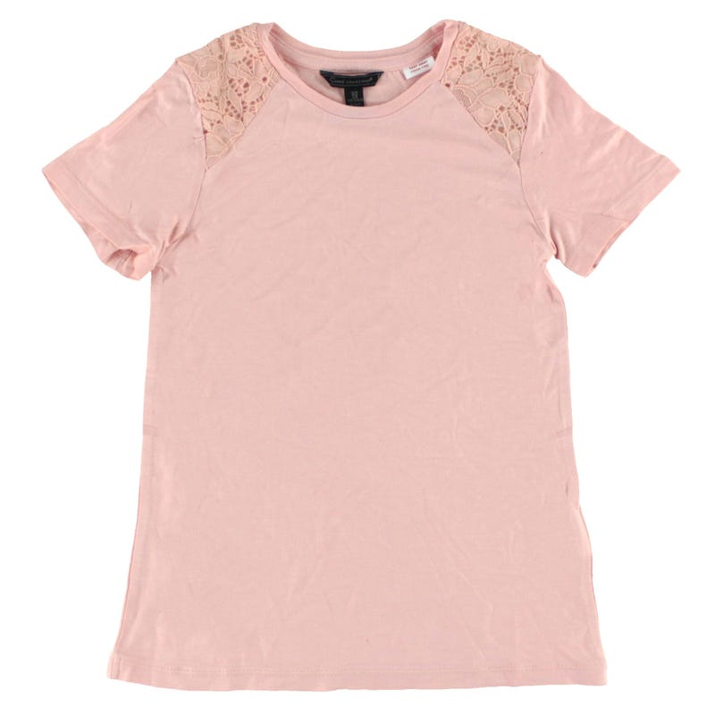 T-Shirt Dentelle 7-16ans