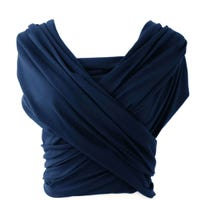 Cotton Sling Baby Carrier - Night Blue