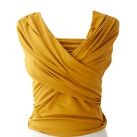 Cotton Sling Baby Carrier - Ocher Yellow