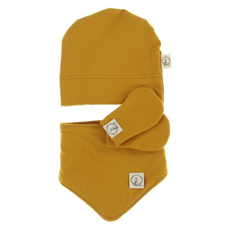 Kit Newborn Cotton - Ocher Yellow