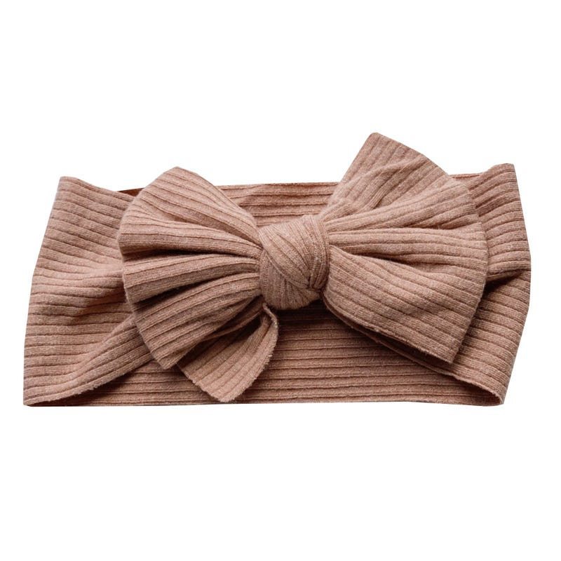 Bandeau Sunflower 0-5ans - Rouille