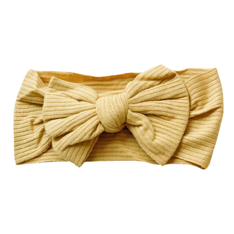 Bandeau Boucle Sunflower 0-5ans - Or
