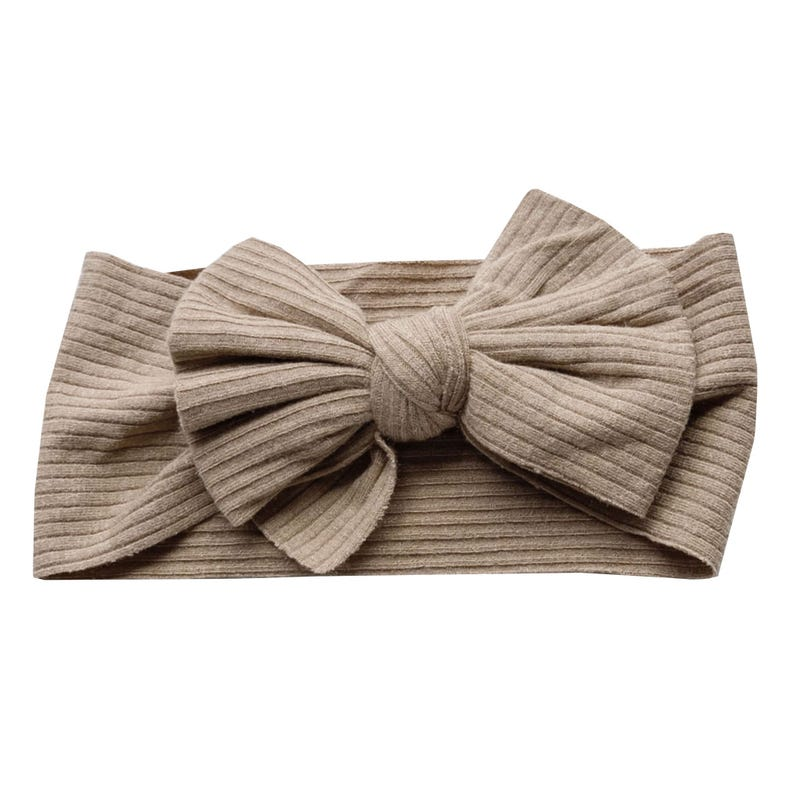 Bandeau Boucle Sunflower 0-5ans - Taupe