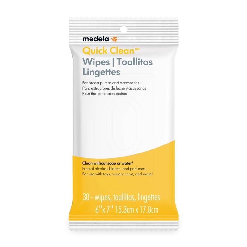 Lingettes (30) Quick Clean pour Tire-Lait et Accessoires
