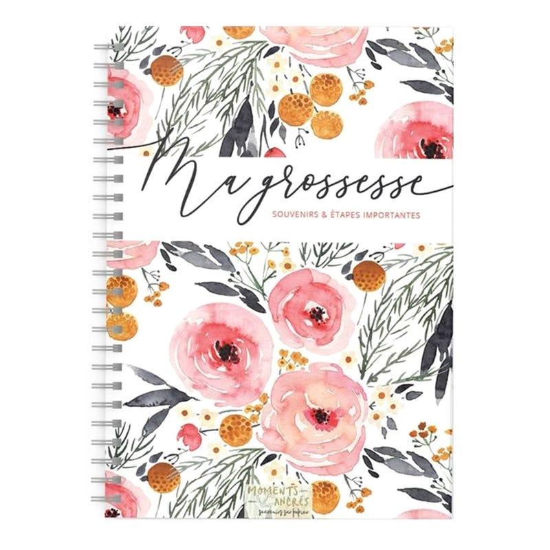 Mon Journal de Grossesse - Fleurs