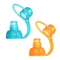 Bec Souple SoftSip Paquet de 2 - Aqua Orange
