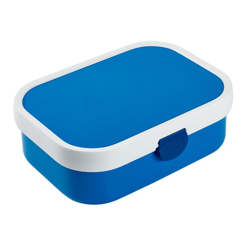 Boite à Lunch Campus avec Compartiments - Bleu