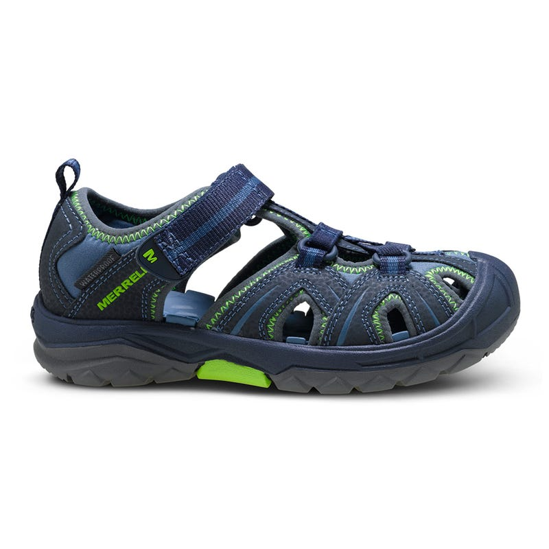Hydro Hiker Sandals Sizes 4-7 - Navy