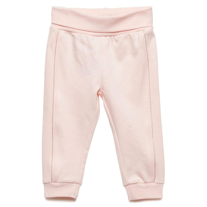 Pants 0-6m - Solid Pink