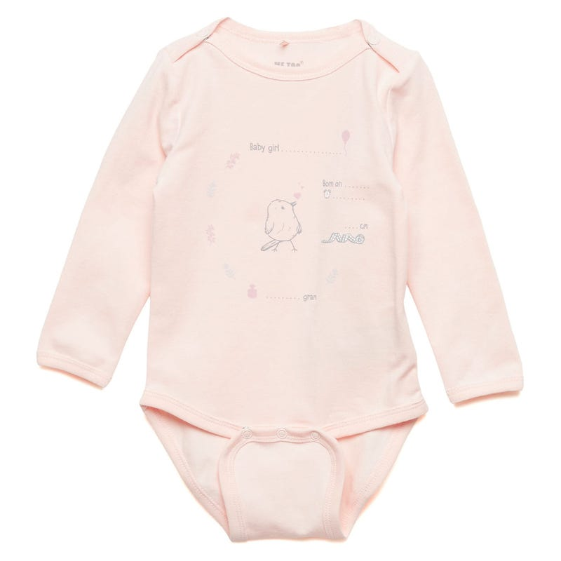 Bodysuit 0-6m - Bird