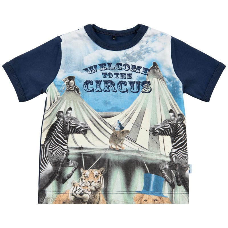 T-shirt Chapiteau Cirque 0-12m