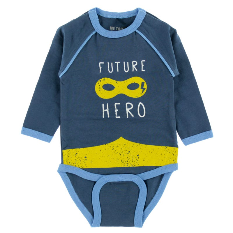 Dino Hero Bodysuit 0-18m