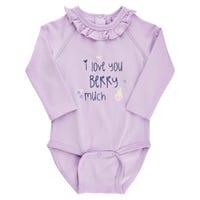 Me Too Lilac Bodysuit 0-18m
